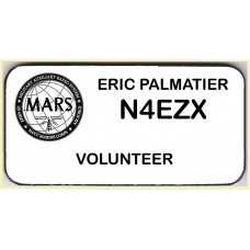 Medium MARS Volunteer Badge