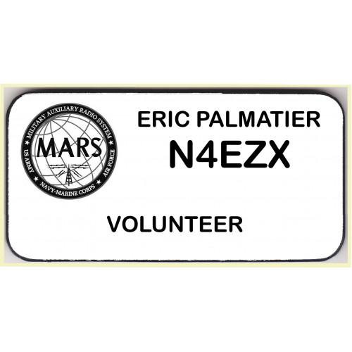 Medium MARS Volunteer Badge