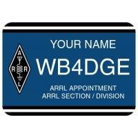 Large ARRL Field Appointment Badge