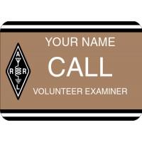 Large ARRL Volunteer Examiner Badge