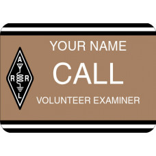 Large ARRL Volunteer Examiner Badge