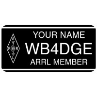 Medium ARRL Member Badge