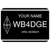 Large ARRL Member Badge