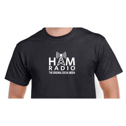 "T-Shirt: ""HAM RADIO The Original Social Media"""