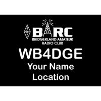 Large BARC Utah Badge