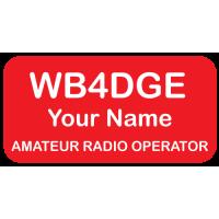 Medium Amateur Radio Operator Badge