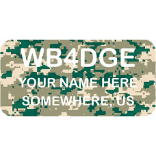 Medium Camo Badge