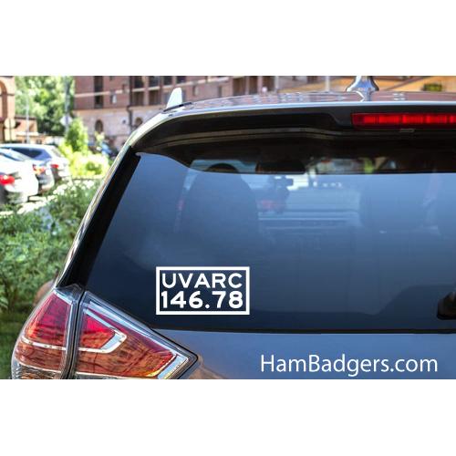 Decal: UVARC 146.78