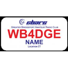 Medium Greater Bridgeport Amateur Radio Club GBARC Badge