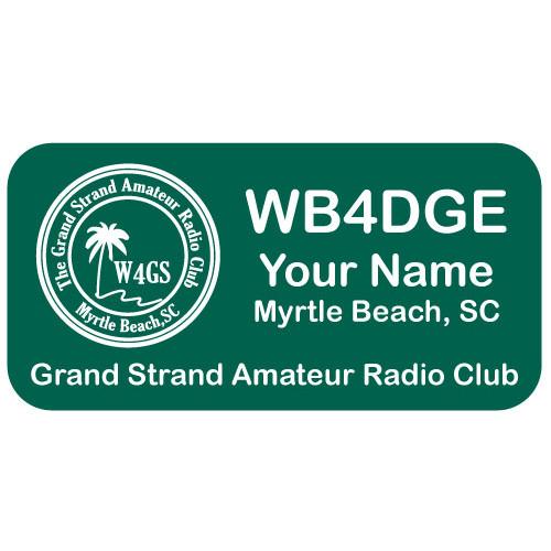 Medium GSARC Member Badge