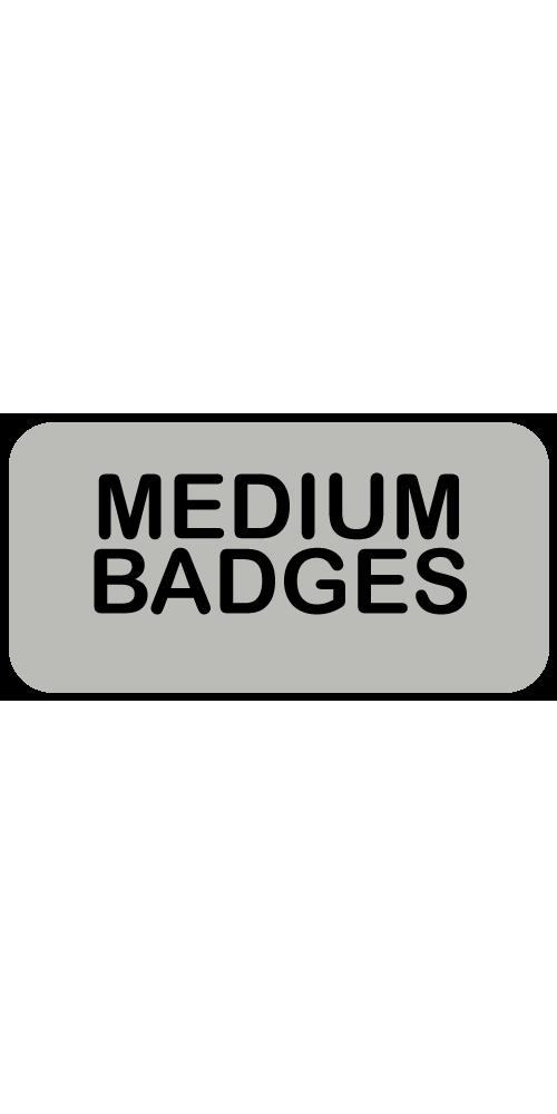 Medium Badges
