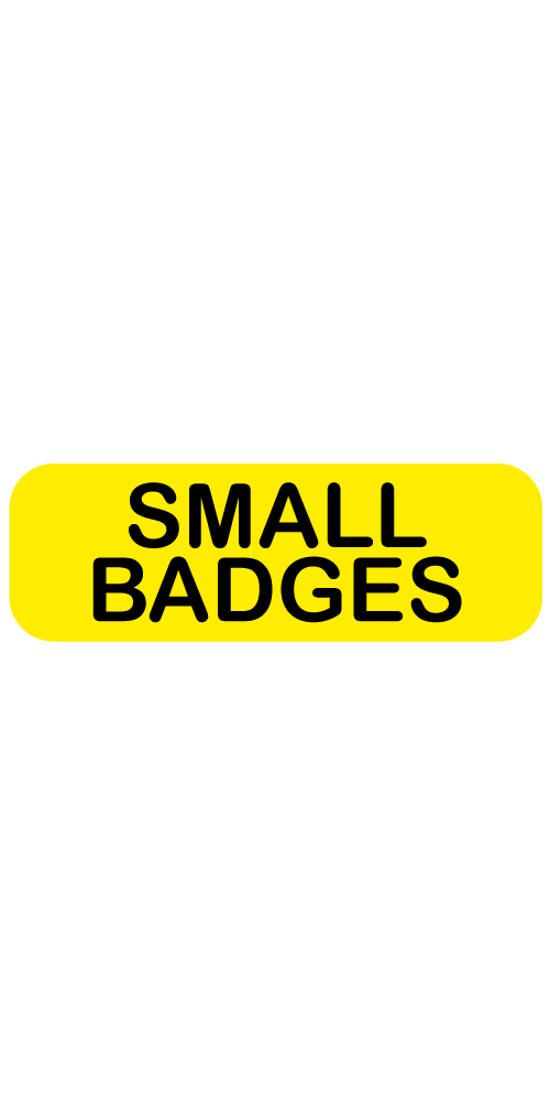 Small Badges