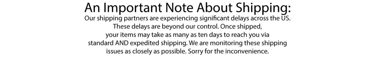 Shipping Notice