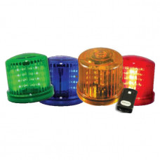 Mag Mount Safety Beacon Battery Operated with Remote Control